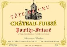 Château Fuissé Pouilly-Fuissé Tête de Cru label