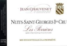 Domaine Jean Chauvenet Nuits-Saint-Georges Premier Cru Les Perrières label
