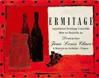 Domaine Jean-Louis Chave Hermitage Cuvée Cathelin label