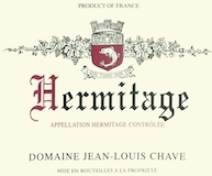 Domaine Jean-Louis Chave Hermitage  label