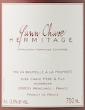 Domaine Yann Chave Hermitage  label