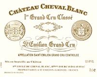 Château Cheval Blanc  Premier Grand Cru Classé A label