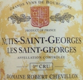 Domaine Robert Chevillon Nuits-Saint-Georges Premier Cru Les Saints-Georges label