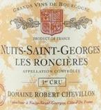 Domaine Robert Chevillon Nuits-Saint-Georges Premier Cru Les Roncières label