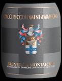 Ciacci Piccolomini d'Aragona Brunello di Montalcino  label