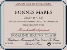 Domaine Bruno Clair Bonnes-Mares Grand Cru  label