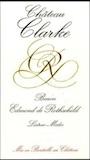 Château Clarke  label