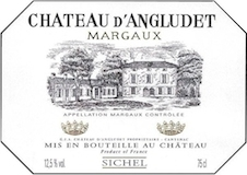 Château d' Angludet  label