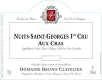 Domaine Bruno Clavelier Nuits-Saint-Georges Premier Cru Aux Cras Vieilles Vignes label