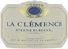 Château La Clémence  label