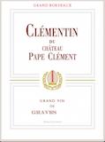 Château Pape Clément Clémentin label