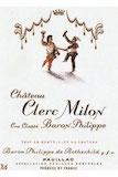 Château Clerc-Milon  Cinquième Cru label