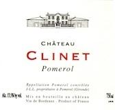 Château Clinet  label