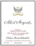 Château Mouton Rothschild Aile d'Argent label