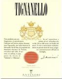 Tenuta Tignanello Tignanello label