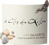 Clos du Caillou Châteauneuf-du-Pape Les Quartz label