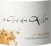 Clos du Caillou Châteauneuf-du-Pape Les Safres Blanc label