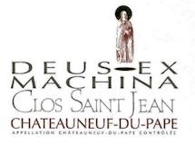 Clos Saint-Jean Châteauneuf-du-Pape Deus-Ex Machina label