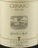 Castello della Sala Cervaro della Sala label