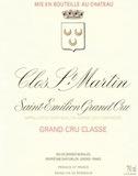 Clos Saint-Martin  Grand Cru label