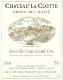Château La Clotte  Grand Cru Classé label