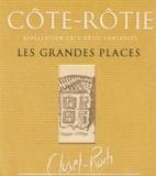 Clusel Roch Côte Rôtie Les Grandes Places label