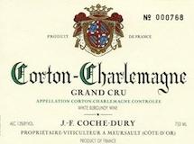Domaine Jean-François Coche-Dury Corton-Charlemagne Grand Cru  label
