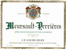 Domaine Jean-François Coche-Dury Meursault Premier Cru Perrières label