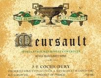 Domaine Jean-François Coche-Dury Meursault  label