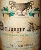 Domaine Jean-François Coche-Dury Bourgogne Aligoté  label