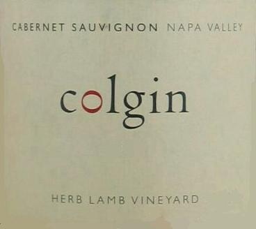 Colgin Cellars Herb Lamb Cabernet Sauvignon label