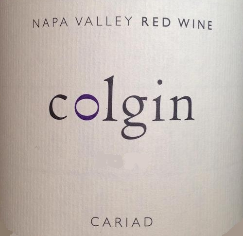 Colgin Cellars Cariad label