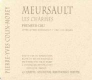 Domaine Pierre-Yves Colin-Morey Meursault Premier Cru Charmes label