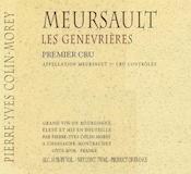 Domaine Pierre-Yves Colin-Morey Meursault Premier Cru Genevrières label