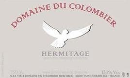 Domaine du Colombier Hermitage Blanc label