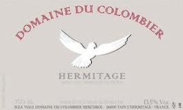 Domaine du Colombier Hermitage  label