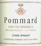Domaine des Epeneaux (Comte Armand) Pommard Premier Cru Clos des Epeneaux label
