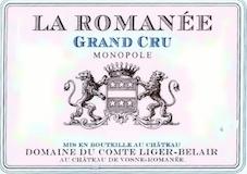 Domaine du Comte Liger-Belair La Romanée Grand Cru  label