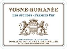 Domaine du Comte Liger-Belair Vosne-Romanée Premier Cru Les Suchots label