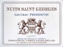 Domaine du Comte Liger-Belair Nuits-Saint-Georges Premier Cru Les Cras label