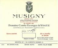 Domaine Comte Georges de Vogüé Musigny Grand Cru Vieilles Vignes label