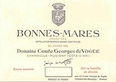 Domaine Comte Georges de Vogüé Bonnes-Mares Grand Cru  label