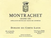 Domaine des Comtes Lafon Montrachet Grand Cru  label