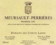 Domaine des Comtes Lafon Meursault Premier Cru Perrières label