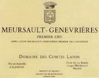Domaine des Comtes Lafon Meursault Premier Cru Genevrières label