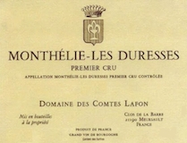 Domaine des Comtes Lafon Monthelie Premier Cru Les Duresses label