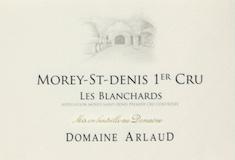 Domaine Arlaud Morey-Saint-Denis Premier Cru Les Blanchards label