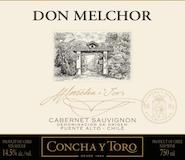 Concha Y Toro Don Melchor Cabernet Sauvignon label