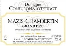 Domaine Confuron-Cotetidot Mazis-Chambertin Grand Cru  label