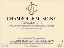 Domaine Jean-Jacques Confuron Chambolle-Musigny  label